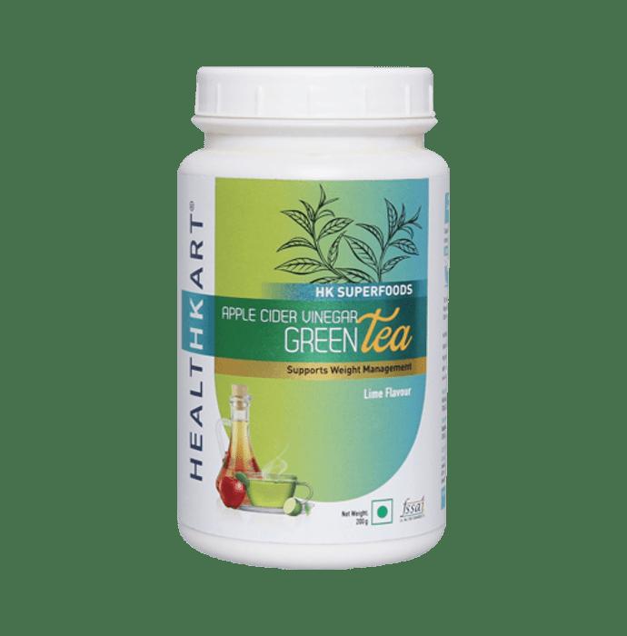 HealthKart Apple Cider Vinegar Green Tea Lime
