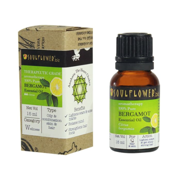 Soulflower Bergamot Essential Oil