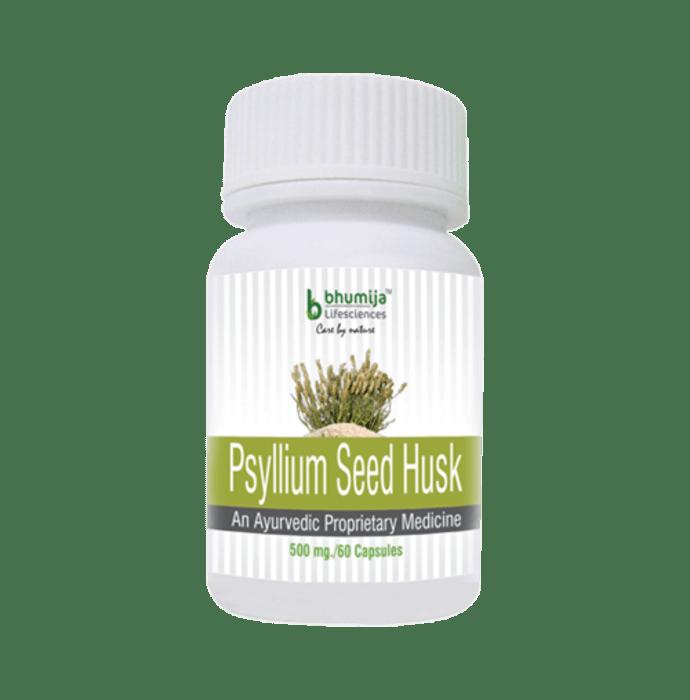 Bhumija Lifesciences Psyllium Seed Husk 500mg Capsule
