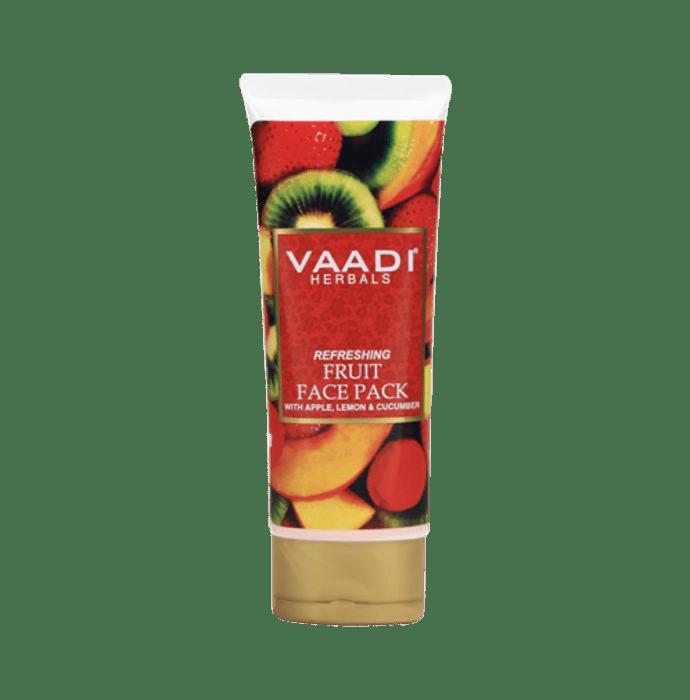 Vaadi Herbals Refreshing Fruit Face Pack with Apple Lemon & Cucumber