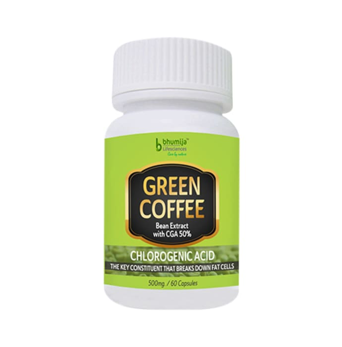 Bhumija Lifesciences Green Coffee Bean Extract Capsule