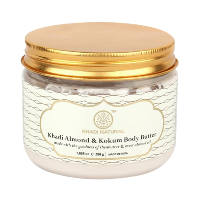 Khadi Naturals Ayurvedic Almond & Kokum Body Butter