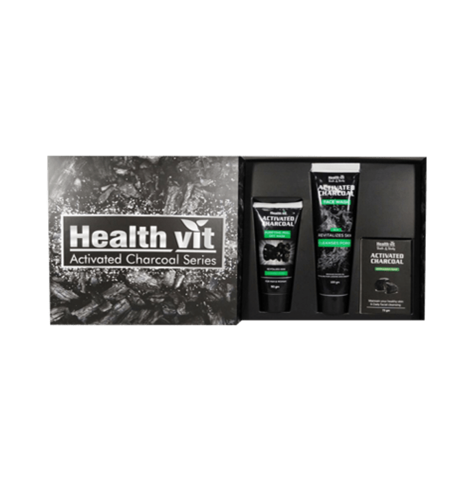 HealthVit Activated Charcoal Series Kit