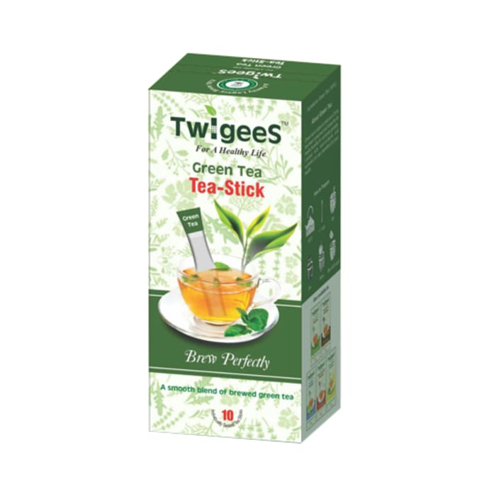 Nature & Nurture Twigees Green Tea Stick