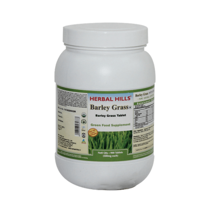 Herbal Hills Value Pack of Barleygrass Tablet