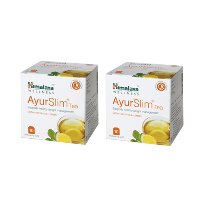 Himalaya Wellness AyurSlim Tea Pack of 2