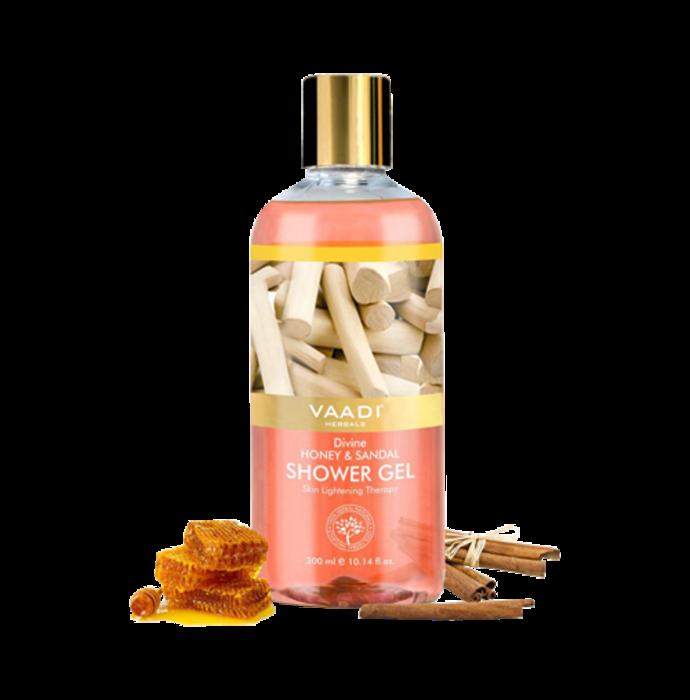Vaadi Herbals Divine Honey & Sandal Shower Gel
