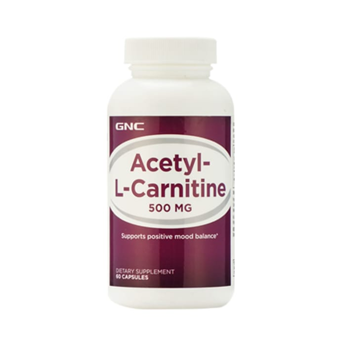GNC Acetyl-L-Carnitine 500mg Capsule