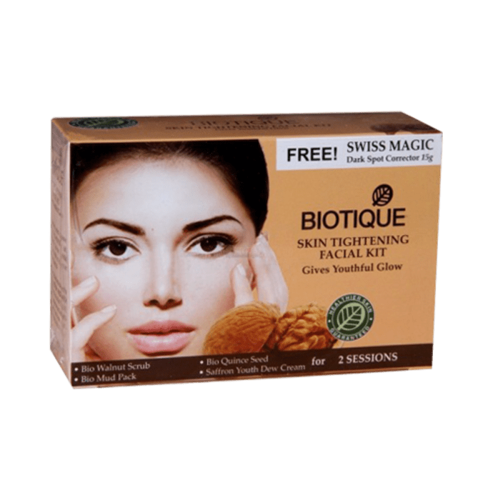 Biotique Bio Skin Tightening Facial Kit Give Youthful Glow