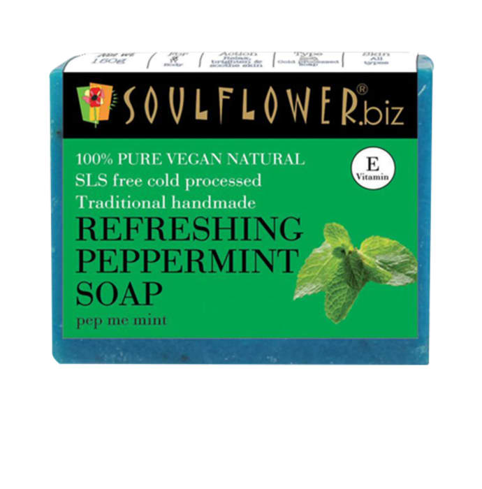 Soulflower Refreshing Peppermint Soap