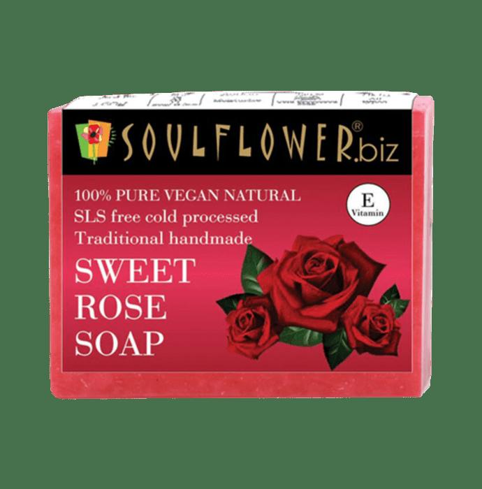 Soulflower Sweet Rose Soap