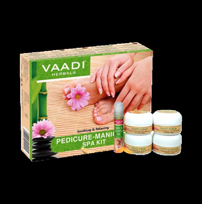 Vaadi Herbals Pedicure Manicure Spa Kit - Soothing & Refreshing 135gm