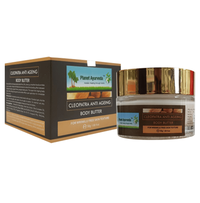 Planet Ayurveda Cleopatra Anti-Ageing Body Butter