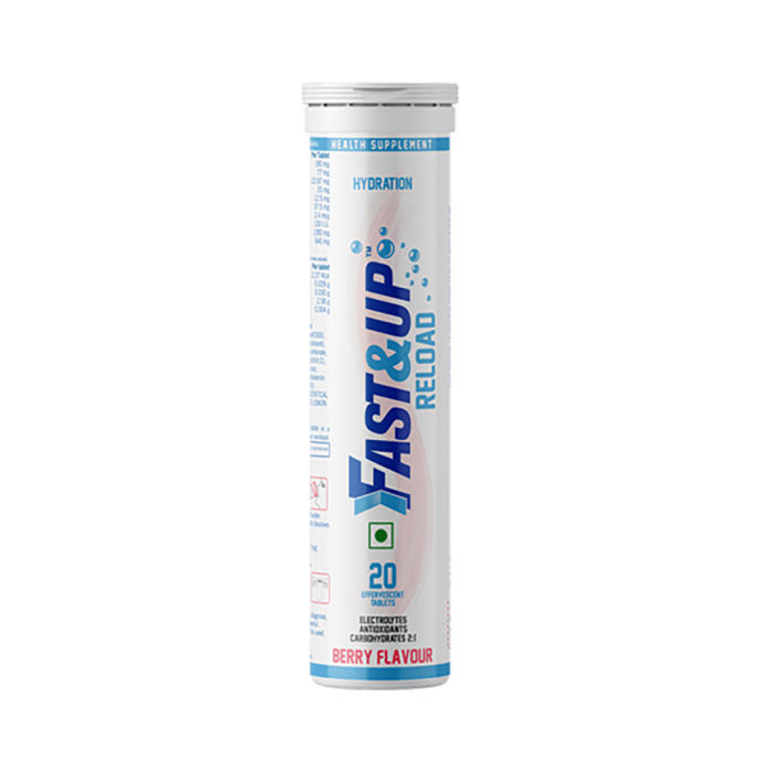 Fast&Up Reload Hydration Effervescent tablet Berry