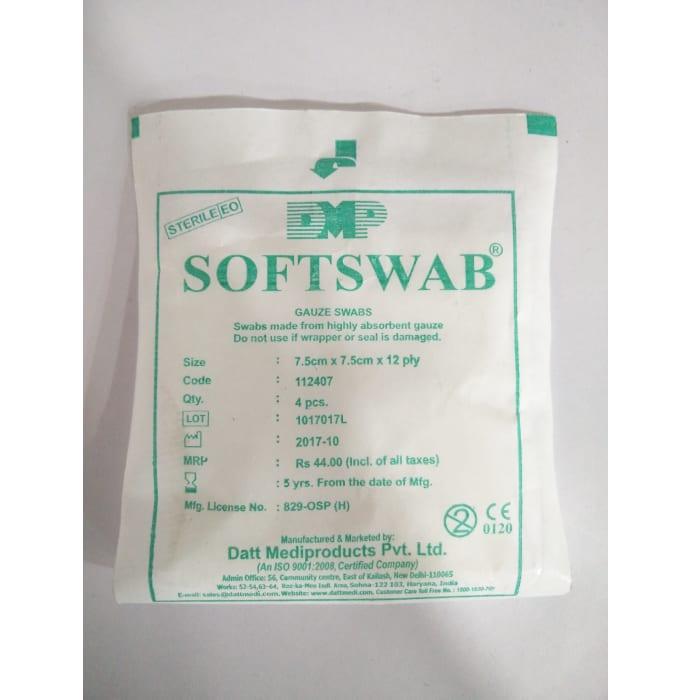 Softswab 7.5cm*7.5cm*12ply