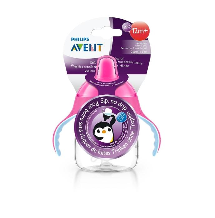 Philips Avent Premium Soft Spout Cup Pink