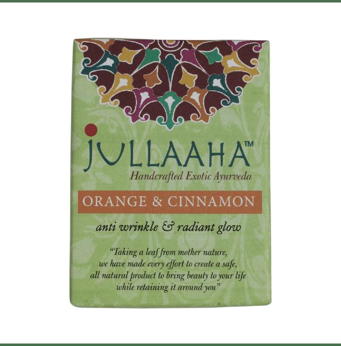 Jullaaha Orange & Cinnamon Bathing Bar Pack of 2
