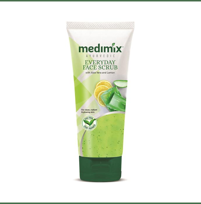 Medimix Ayurvedic Everyday Face Scrub Face Wash Pack of 3