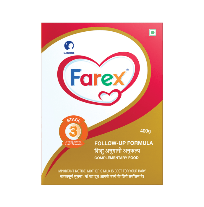 Farex Stage 3 Follow-Up Formula Refill Pack