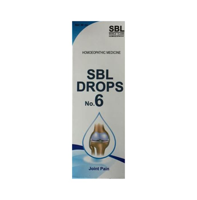 SBL Drops No. 6 (For Joint Pain)
