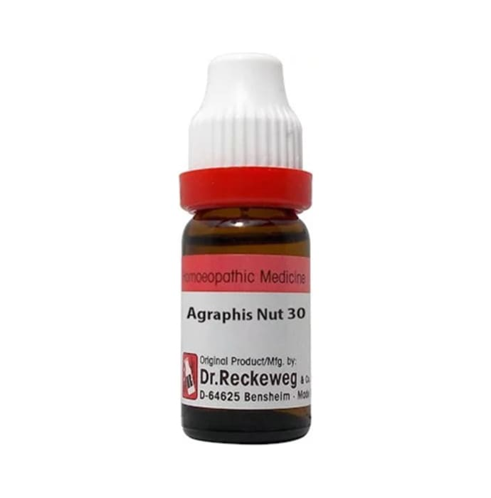Dr. Reckeweg Agraphis Nut Dilution 30 CH