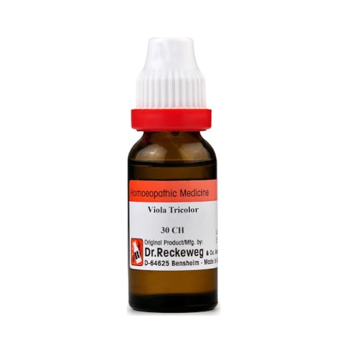 Dr. Reckeweg Viola Tricolor Dilution 30 CH