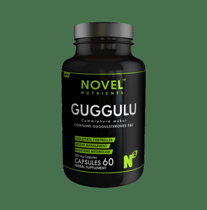 Novel Nutrients Guggulu 500mg Capsule