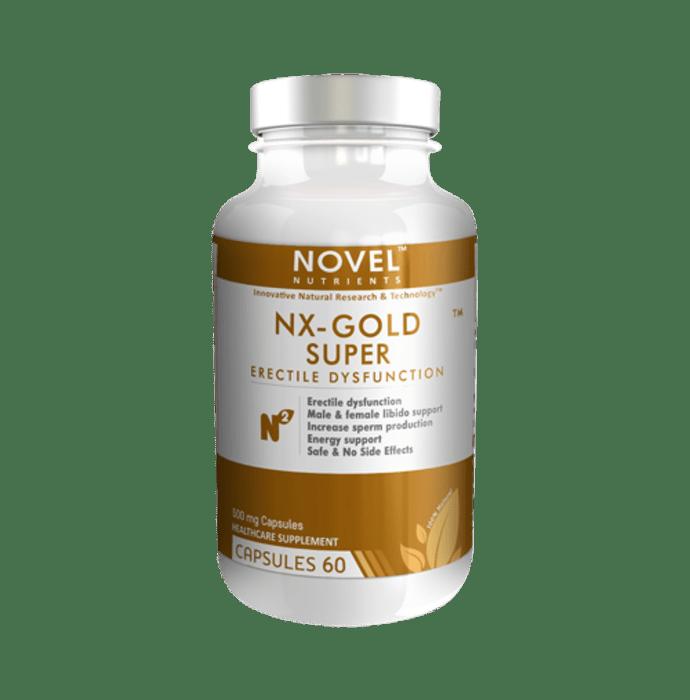 Novel Nutrients NX-Gold Super 500mg Capsule