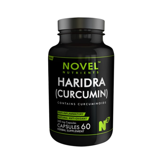 Novel Nutrients Haridra (Curcumin) 300mg Capsule