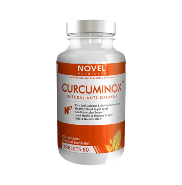 Novel Nutrients Curcuminox 1000mg Capsule
