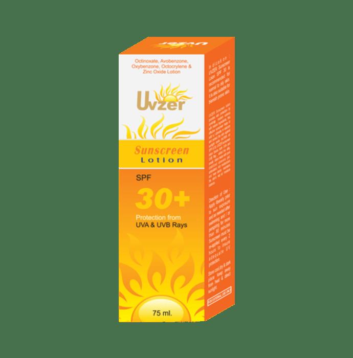 Uvzer Spf 30 Sunscreen Lotion