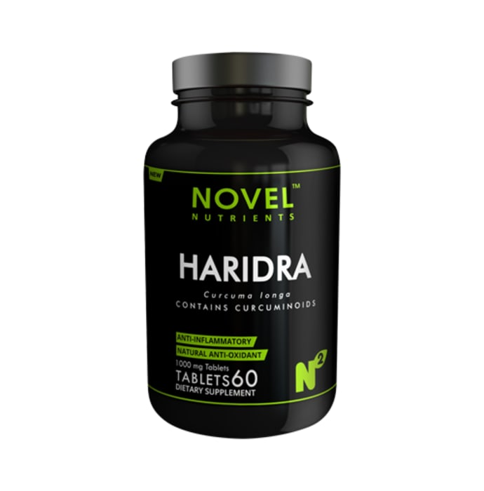 Novel Nutrients Haridra (Curcumin) 1000mg Capsule