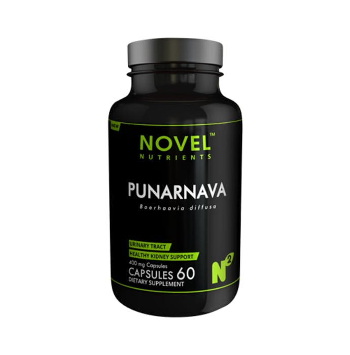 Novel Nutrients Punarnava 400mg Capsule