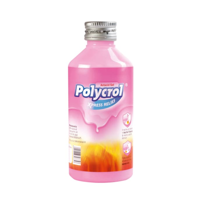 Polycrol Antacid Gel Mint Xpress Relief