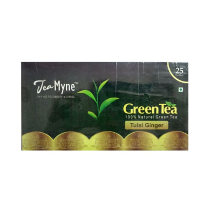 Teamyne Tulsi Ginger Green Tea 2gm