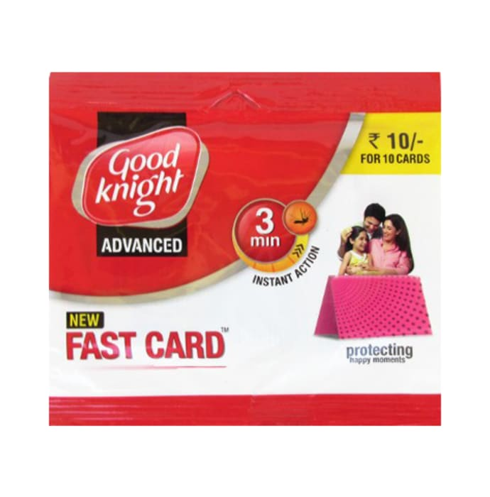 Good Knight Fast Card Pack of 10