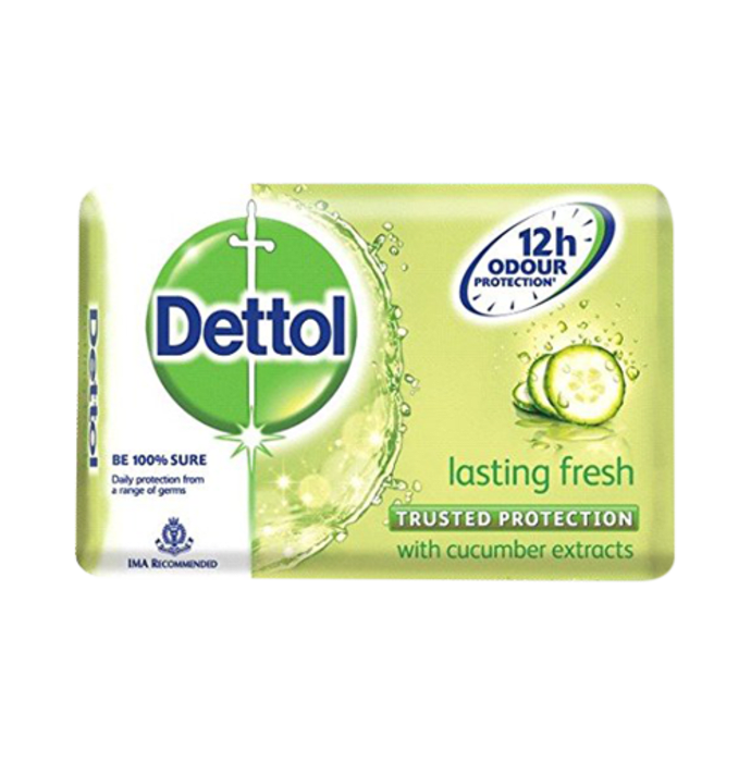 Dettol Lasting Fresh 125gm Soap