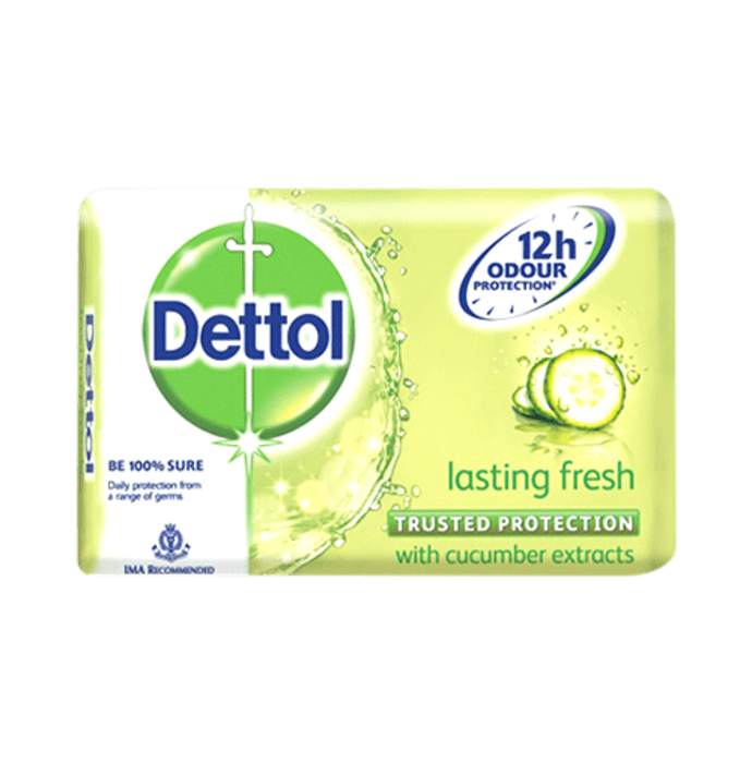 Dettol Lasting Fresh 75gm Soap
