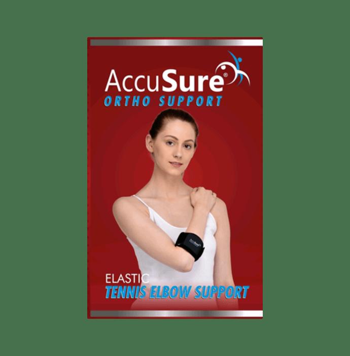 AccuSure E-3 Elastic Tennis Elbow Support