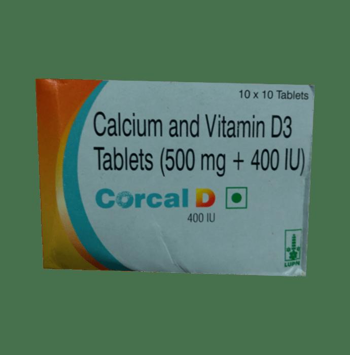 Corcal D 400 IU Tablet