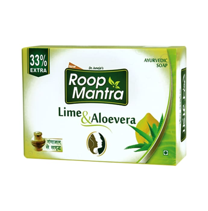 Roop Mantra  Lime & Aloevera Soap