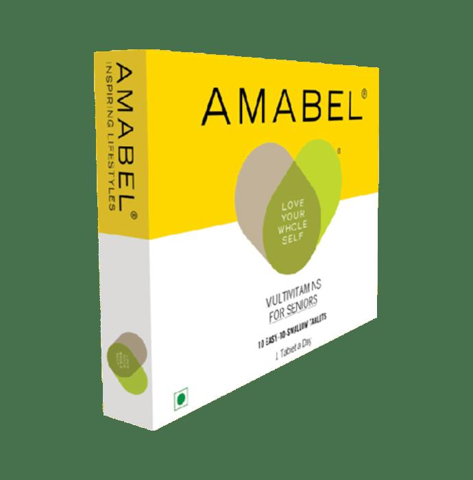 Amabel Multivitamins & Minerals For Seniors Tablet