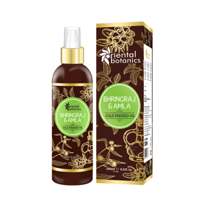 Oriental Botanics Bhringraj & Amla Cold Pressed Oil