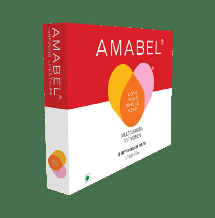 Amabel Multivitamins & Minerals For Women Tablet