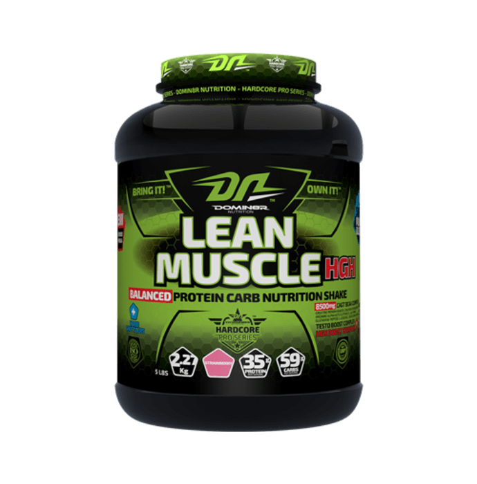 DOMIN8R Lean Muscle HGH Powder Strawberry