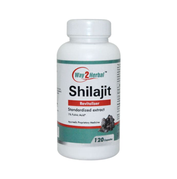Way2Herbal Shilajit Capsule