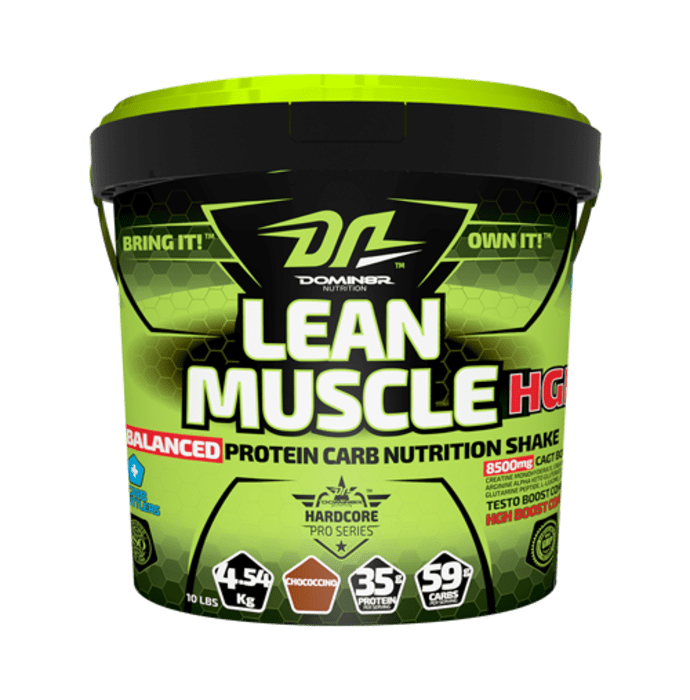 DOMIN8R Lean Muscle HGH Powder Chococcino
