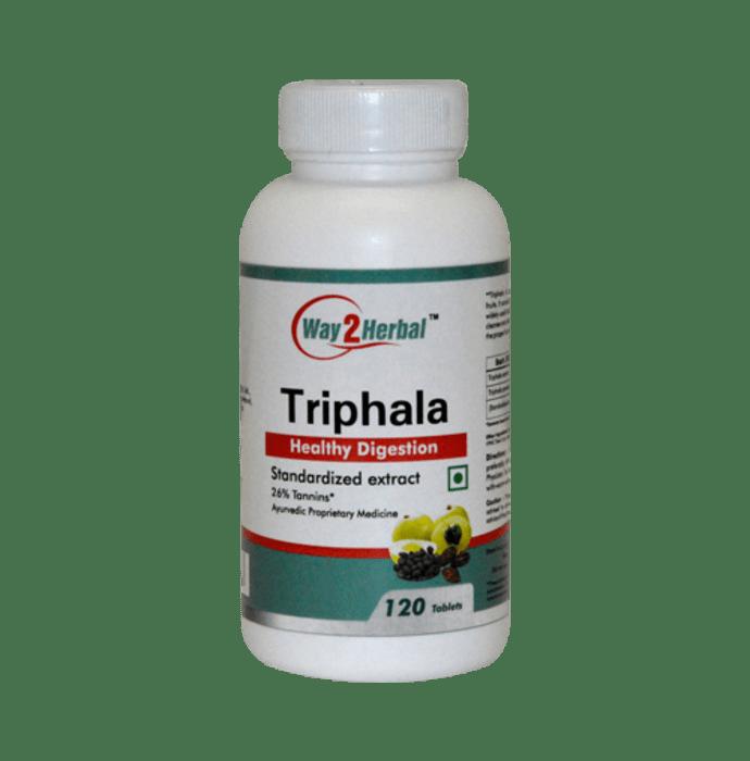Way2Herbal Triphala Tablet
