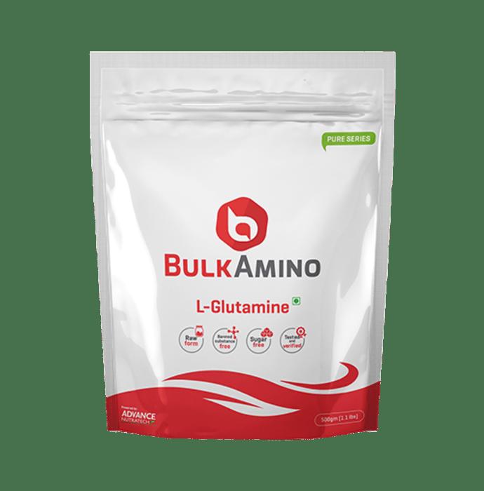Advance Nutratech BulkAmino L-Glutamine Supplement Powder