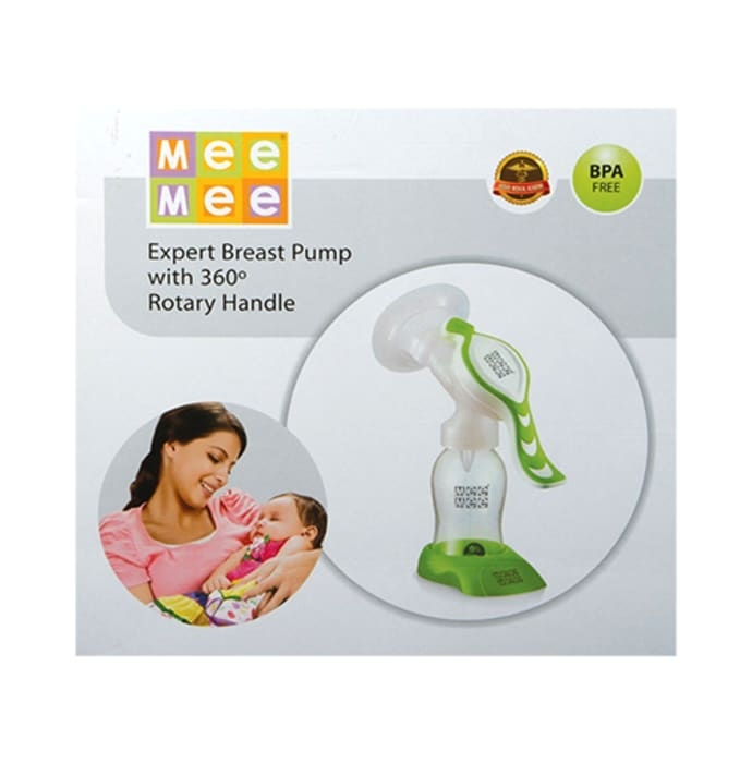 Mee Mee Expert Manual Breast Pump with Rotary Handle